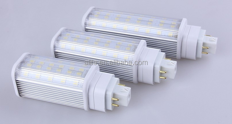 11w led pl lamp g24 4 pin alite to replace cfls