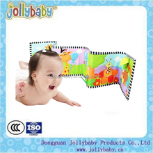 Australian Jollybaby Custom Made Garden Bumper Soft Educational ABC Lamaze Binding Baby Cloth Book For Children