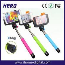 Long life environment Z07-5 bluetooth selfie stick with new function