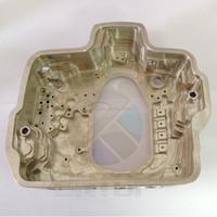 5 Axis CNC Milling Machining Custom High Precision Aluminum Parts For Diving Camera