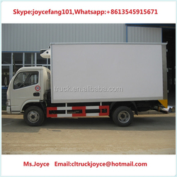 3-5ton Refrigerator Freezer Truck,Van Made In China For Sale