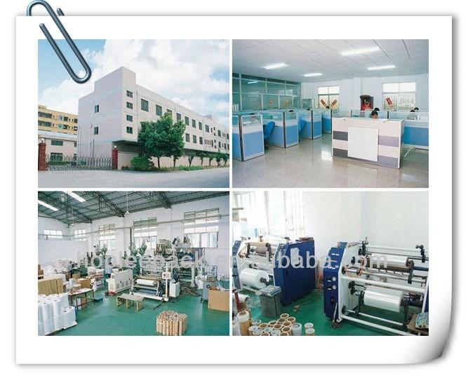 Industrical Plástico Preto Fundido Mão Wraps Fabricante a partir de china Folha Do Envoltório da Pálete Esticar Filme de Polietileno