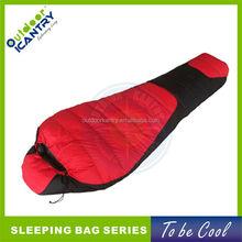 2015 KS1034 red rip stop down proof nylon sleeping bag down sleeping bag