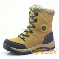 Oil resistant and slip resistant winter work boots and cold resistant heavy duty winter boots safety boots with fur SA-N4