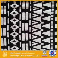 Dress fabric supplier Top selling Single Jersey printed viscose fabric