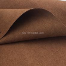 quanlity superior de couro camurça sintética tela da camurça
