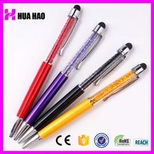 Logo customized advertising black pen with logo print metal ball pen wholesale