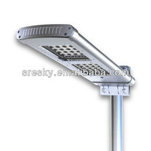 2012 Nes Ce Decorative Led Solar Street Lights With Poles
