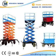 hydraulic wall mounted lift platform,motorized lifting platform scissor platform lift