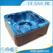 FD03 CE&FCC&SAA Approved air jet massage outdoor spa hot tub