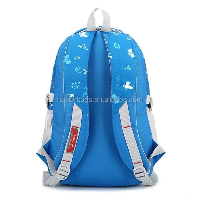 Haute qualité pas cher élégant sacs d'école pour les adolescents