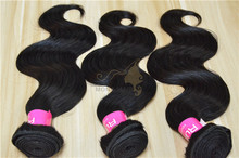 Natural black unprocessed russian hair, factory price cheap virgin hair russian weave