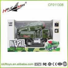 1/32 alloy material truck type pull back car car battery diecast car race car army vehicle big green machine scale mini model