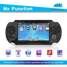 4.3inch TFT resistance Touch Screen handheld game player