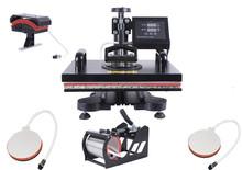 5-in-1 combo heat transfer press heat transfer film printing machine