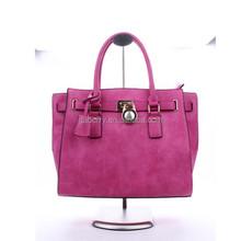 2015 ladies fashion pu handbag with lock