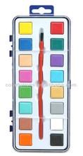 16 colors Promotional School Water Color Paint Set