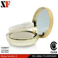2014 Hot sale round luxury compact powder case
