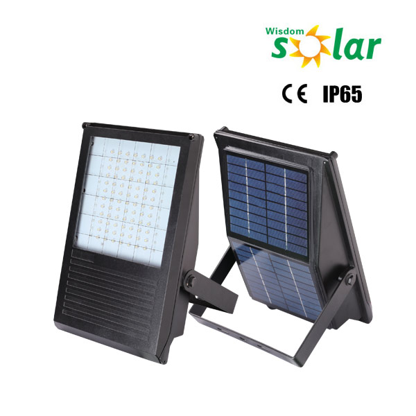 Solar powered led outdoor flood lights for parking lots