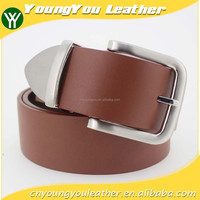 2015 NEW fashion genuine leather belt for man with sliver pin accessories for jeans