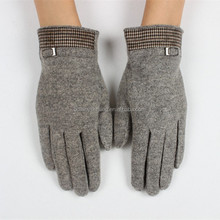 2015 new desgin women lady girl flecce winter gloves very thick and warm knnitting woolen gloves