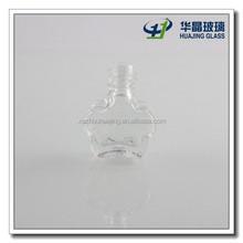 3 ml Plum flower shaped custom made nail polish bottle for sale