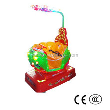 KUNKA Coin Operated Mechanical Butterfly Kiddie Ride for Sale