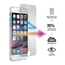 Best selling tempered glass protector/water proof phone case for iphone6 plus