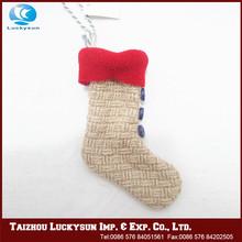 Unique design hot sale christmas stocking for decoration
