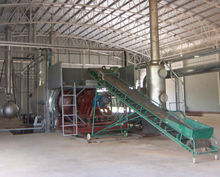 100% avoid burning continuous engine oil recycling machine pp pe film plastic recycling machine