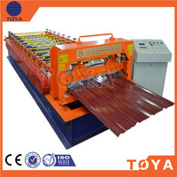 Alibaba Express automatic galvanized metal roofing sheet cold forming machine/floor deck roll forming machine Made in china