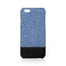 Canvas with PU mobile phone shell for iphone 6