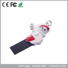 2015 new product~~~Hot selling santa jewelry usb flash drive,best usb gedget for chritsmas gift.