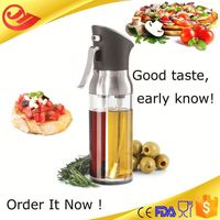Salad dressing use clear pet bottle with pump mosquito repellent sprayer