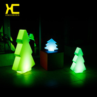 Chargeable Cordless Illuminate Holiday Decorative Christmas Tree Light