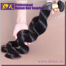 Alibaba Wholesale DK Double track human peruvian hair extensions