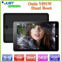 Original Onda V891W RAM 2GB ROM 32GB quad core 2MP+5MP OTG tablet 9 inch Shenzhen