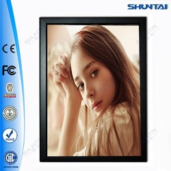 China supplier LED snap backlit wall mounted poster frame
