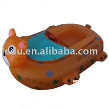 Inflatable children battery bumper boat