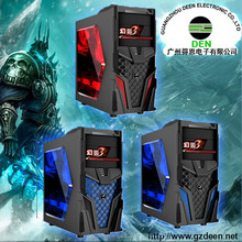 big tower deluxe transparent side panel atx gaming computer case