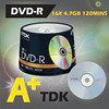 TDK A+ blank dvd, dvd-r, high quality made in taiwan products
