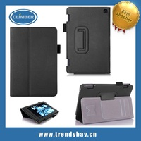 Standing flip leather and Smart shell case for amazon kindle fire hd 7 with card slot