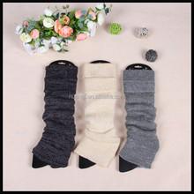 Cheap Plain Knitting Solid Color Leg Warmers
