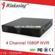 Best selling 4ch wifi nvr kits cctv kits YJS-104NVR