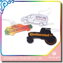 Customise paper car air freshener Car Shaped Car Air Fresheners