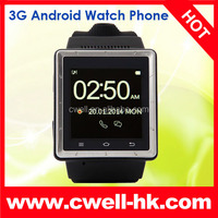 ZGPAX S6 MTK6577 Dual Core 3G Android hand watch mobile phone price