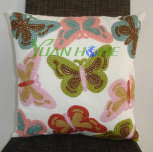 printing sofa cushion covers(butterfly C2709)
