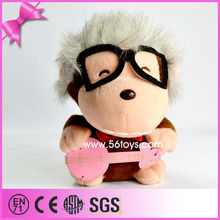 new product plush Ugly toy soft monkey with long hair animal