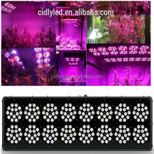 aeroponic system led panel grow light 600watt 3w chips powerful bloom led grow lights green house LED fixture