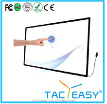 """China factory price CE FCC Rohs 65"""" 84"""" IR touch screen USB touch frame LED IR Multi touch screen monitor"""